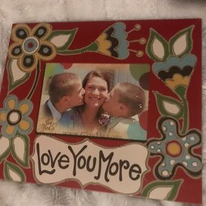 Love You More 10x12 Picture Frame